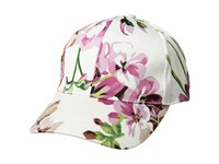 Collection Xiix Satin Floral Baseball White Baseball Caps