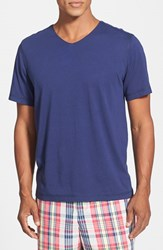 Daniel Buchler Men's V Neck Peruvian Pima Cotton T Shirt