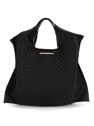 Xaa Quilted Tote Bag Black