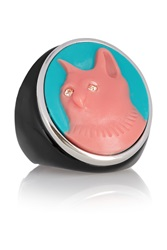 Marc By Marc Jacobs Rue Cameo Crystal And Resin Ring