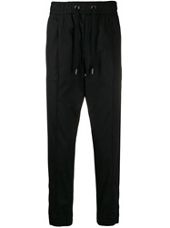 Dolce And Gabbana Logo Track Pants Black