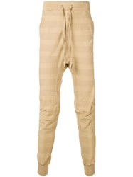 Haider Ackermann Striped Track Pants Nude And Neutrals