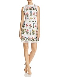 Lucy Paris Gabby Embellished Mesh Dress 100 Exclusive White