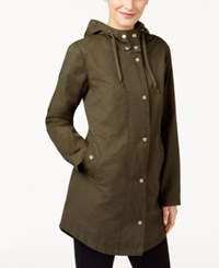 Styleandco. Style Co Hooded Anorak Jacket Evening Olive