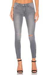Joe's Jeans The Icon Ankle Distressed Charcoal