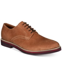 Bar Iii Baxter Buck Lace Ups Created For Macy's Shoes Tan