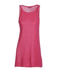 Snobby Sheep Short Dresses Fuchsia