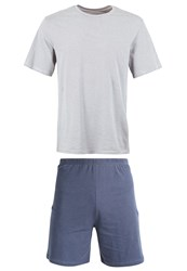 Schiesser Set Pyjama Set Grey Light Grey