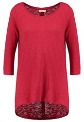 Only Onlcasa Long Sleeved Top Jester Red
