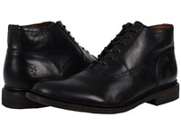 Frye James Bal Chukka Leather Black Smooth Vintage Leather Men's Lace Up Boots