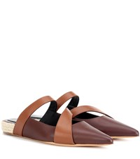 J.W.Anderson Leather Slipper Brown