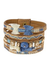 Sweet Deluxe Madita Bracelet Braun Blau Mix Brown
