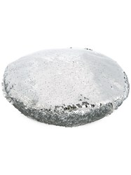 Racil Sequinned Beret Metallic