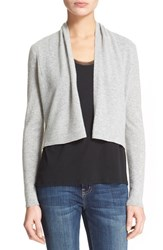 Women's Rebecca Taylor 'Camile' Cashmere Crop Cardigan
