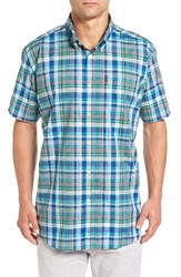 Barbour Men's Gerald Tailored Fit Madras Sport Shirt