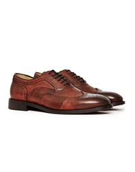 Hudson Heyford Calf Brogue Brown