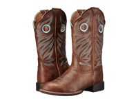 Ariat Round Up Stockman Wood Cowboy Boots Brown
