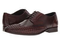 Messico Paolo Cognac Dark Brown Leather Shoes