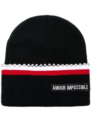 Pinko Amour Impossible Hat Blue