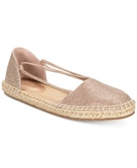 Kenneth Cole Reaction Women's How Laser Flat Sandals Women's Shoes Rose Gold