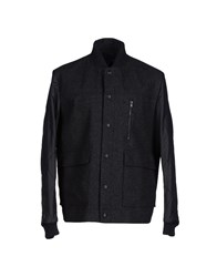 M.Grifoni Denim Coats And Jackets Jackets Men Steel Grey
