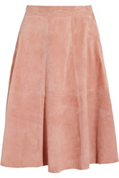 Iris And Ink Eloisa Suede Midi Skirt