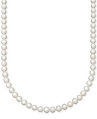 Belle De Mer Aa 18 Cultured Freshwater Pearl Strand Necklace 7 1 2 8 1 2Mm