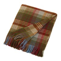 Mulberry Home Ancient Tartan Lambswool Blanket 155X180cm