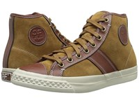 Pf Flyers Rambler Tarnish Suede Leather Men's Lace Up Casual Shoes Brown