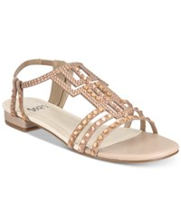 Impo Annette Embellished Strappy Sandals Praline
