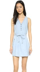 Jack By Bb Dakota Jacomina Dress Medium Wash Chambray
