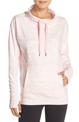 Zella Women's 'Wilderness' Sweatshirt Pink Shadow Heather