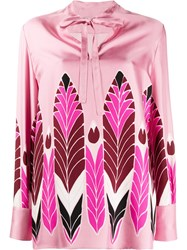 Valentino Feather Print Blouse 60
