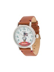 Timex X Space Snoopy Watch Brown
