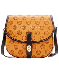 Dooney And Bourke Chicago Cubs Leather Field Bag Royalblue