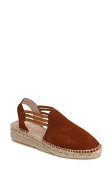 Patricia Green Women's Elba Espadrille Sandal Tobacco Suede