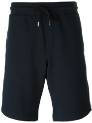 Moncler Piped Track Shorts Blue