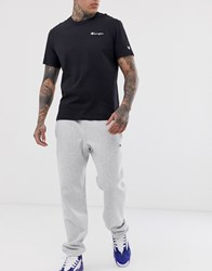 Champion Reverse Weave Joggers In Grey