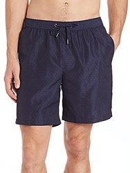 Michael Kors Pin Dot Swim Shorts Midnight