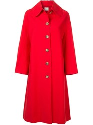 Khaite Doris Coat Red