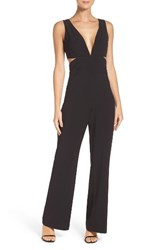 Laundry By Shelli Segal Women's Cutout Jumpsuit