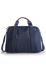 Men's Vessel 'Signature' Briefcase Blue Pebbled Navy
