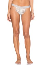 For Love And Lemons Penelope Thong Gray