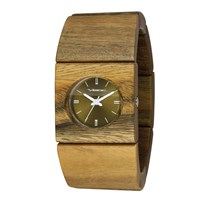 Vestal Rosewood Slim Watch Sandalwood