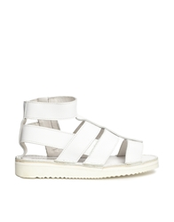 Swear Louise 3 Flat Sandals White