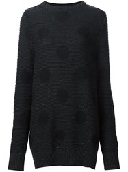 Marc Jacobs Polka Dot Jumper Black
