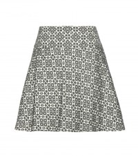 Tory Burch Cotton Blend Skirt White