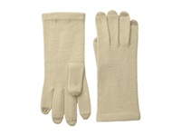 All Over Echo Touch Glove Camel Dress Gloves Tan
