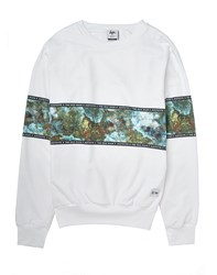 Hype H X I Chest Panel Sweat Green