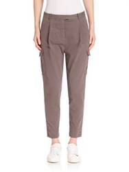 Eleventy Solid Cargo Pants Cocoa